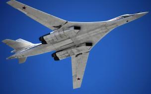 авиация, боевые самолёты, полёт, ту-160
