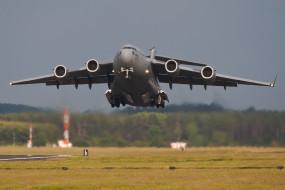 авиация, военно-транспортные самолёты, взлёт