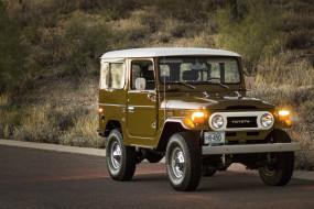 1977-Toyota-FJ40-Land-Cruiser обои для рабочего стола 2560x1707 1977-toyota-fj40-land-cruiser, автомобили, toyota, land