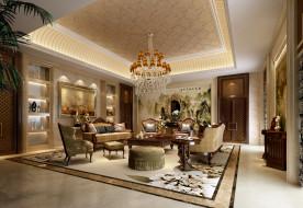 интерьер, гостиная, картины, комната, desigen, room, living, interior, люстра, диваны, кресла, столик, стиль