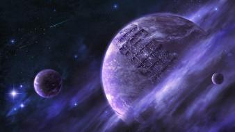 обои для рабочего стола 1920x1080 космос, арт, планеты
