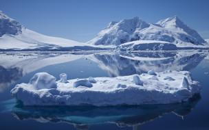 природа, айсберги и ледники, iceberg