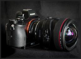 бренды, sony, фотокамера, объектив