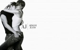 бренды, giorgio armani, пара, джинсы, брюки, майка, футболка, страсть, влюбленные, изгиб, ремень