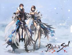 видео игры, blade and soul, клинок, арт, лицо, девушка, blade, soul