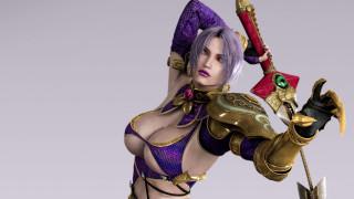 видео игры, soulcalibur iv, девушка, меч