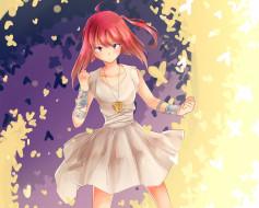 аниме, magi the labyrinth of magic, девушка, кулон, арт, браслеты, morgana
