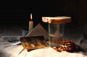 праздничные, день победы, хлеб, свеча, письмо, фото