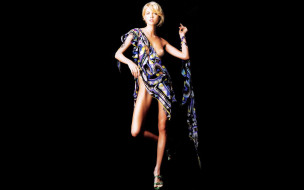 эротика, блондинки, блондинка, sara, calogero, босоножки, ткань, жест, грудь, поза