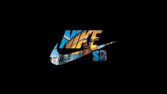 бренды, nike, логотип