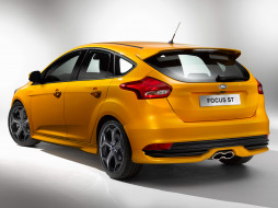 Ford, Focus, ST, 2014г, желтый
