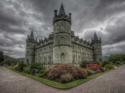 inveraray castle,  scotland, ������, - ������,  �����,  ��������, �����, ���������, �����, ��������, scotland, inveraray, castle