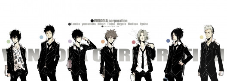 обои для рабочего стола 3000x1080 аниме, katekyo hitman reborn, персонажи, парни, белый, фон, учитель, мафиози, реборн