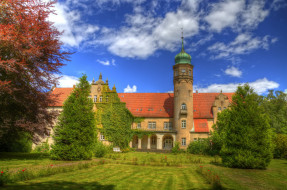 ulenburg castle,  lohne,  germany, ������, - ������,  �����,  ��������, ����, �����