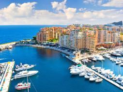 Fontvieille, Monaco обои для рабочего стола 3000x2250 fontvieille,  monaco, города, фонвьей , монако, здания, набережная, катера, яхты, причалы, гавань, бухта, лигурийское, море, фонвьей, ligurian, sea, monaco