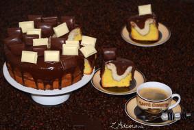 Обои еда торты кофе шоколад скачать