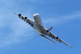Airbus A380 обои для рабочего стола 2048x1365 airbus a380, авиация, пассажирские самолёты, гигант, авиалайнер