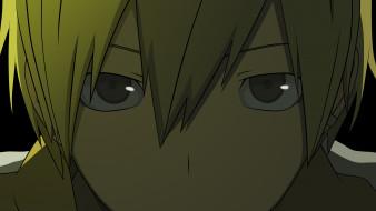 обои для рабочего стола 2560x1440 аниме, dyurarara, взгляд, парень, дюрарара, kida, masaomi