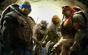 Teenage Mutant Ninja Turtles 2014 обои для рабочего стола 1920x1200 teenage mutant ninja turtles 2014, кино фильмы, teenage mutant ninja turtles, Черепашки, ниндзя, 2014