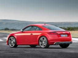 Audi, красный, 2014г, 8S, Coupе, TTS