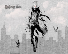 аниме,  gray-man, allen, walker, экзорцитст