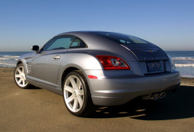 автомобили, chrysler, zh, coupe, limited, crossfire, 2004г