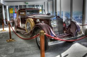 rolls royce, автомобили, выставки и уличные фото, музей, авто, экспонат