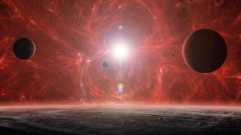 обои для рабочего стола 1920x1080 космос, арт, вселенная, звезды, планеты