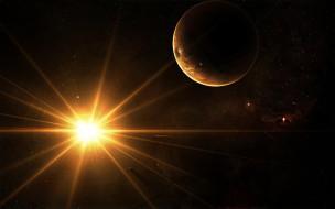обои для рабочего стола 1920x1200 космос, арт, звезды, планеты, вселенная
