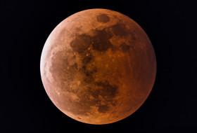 обои для рабочего стола 2048x1390 космос, луна