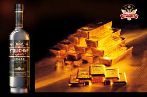бренды, столичный капитал, золото, бутылка, водка