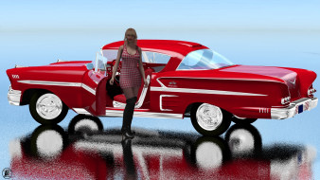����������, 3d car&girl, ����������, �������, ������, ���