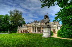 обои для рабочего стола 2048x1356 города, - дворцы,  замки,  крепости, парк, дворец, статуя