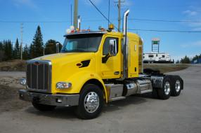 тяжелый, грузовик, седельный, тягач