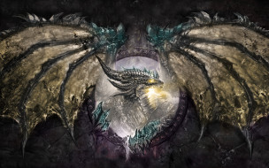 фэнтези, драконы, fantasy, dragon, дракон, крылья