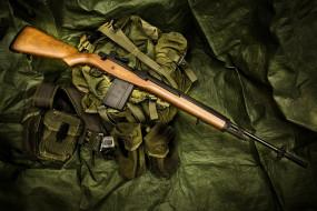 оружие, винтовка, M14, полуавтоматическая, сумка