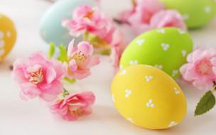 �����������, �����, flowers, eggs, easter, ����, �����, delicate