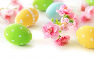 �����������, �����, �����, ����, delicate, eggs, flowers, easter