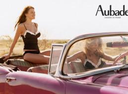 бренды, aubade, радость, наталья, белова, машина, белье, девушки, модель, поездка