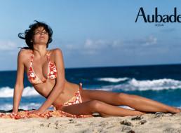 бренды, aubade, пляж, купальник, модель, наталья, белова, море, песок