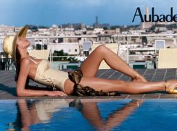 бренды, aubade, шарф, город, панорама, отдых, купальник, бассейн, шляпа, модель, наталья, белова
