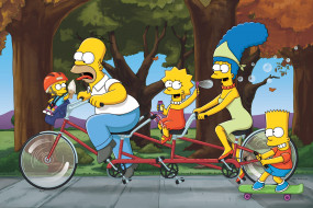 �����������, the simpsons, �����, bicycles, ����, �����, ����������, simpsons, ���������, �����, ����, �����, ����, �����, ������, ����������, bike, love, on, the