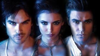 ���� ������, the vampire diaries, ����, elena, damon, stefan