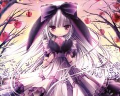 аниме, tinkerbell , artbook, арт, девушка, волосы, платье