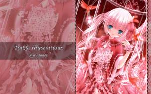 аниме, tinkerbell , artbook, девушка, платье, взгляд