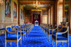 sala del trono della giarrettiera, интерьер, дворцы,  музеи, тронный, зал