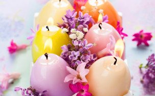 �����������, �����, ������, �����, lilac, candles