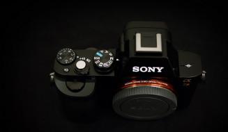 бренды, sony, сони, камера, фотоаппарат, черный, фон