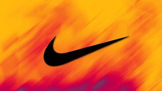бренды, nike, фон, логотип