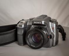 sony alpha 100, бренды, sony, фотокамера